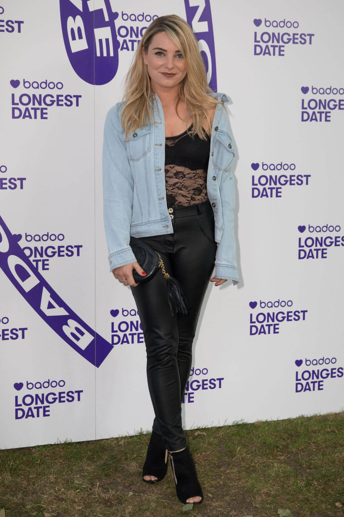 Sian Welby at Badoos Longest Date Celebrating Real Life Dates on Longest Day of the Year in London 2018/06/21 1