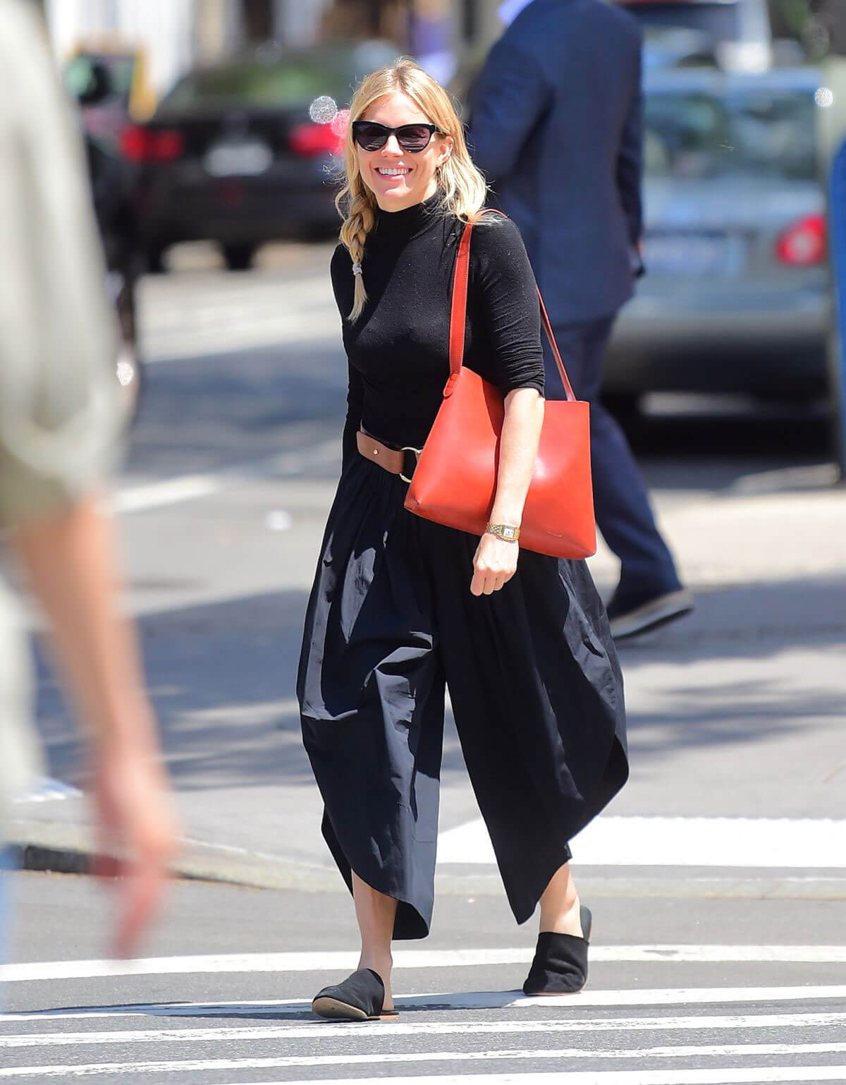 Sienna Miller Out to Lunch in New York 2018/06/11 1
