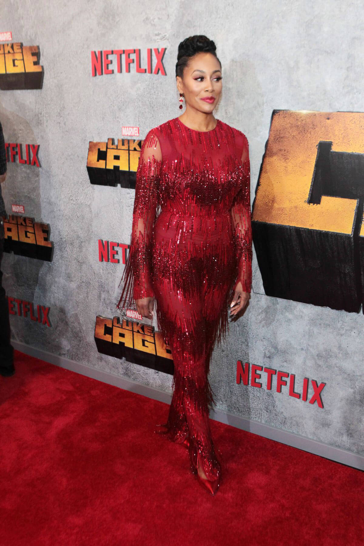 Simone Missick at Luke Cage Series Premiere in New York 2018/06/21 1