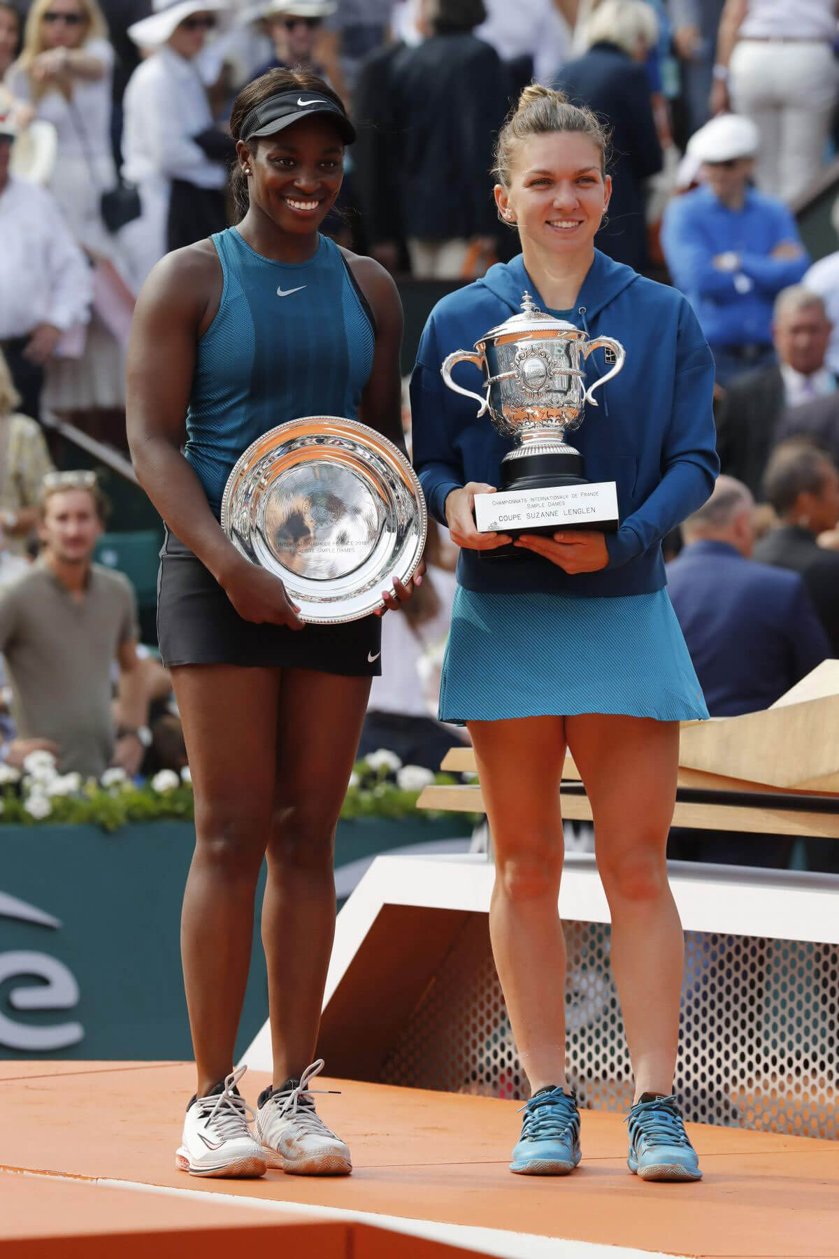 Sloane Stephens at 2018 French Open Final in Paris 2018/06/08 1
