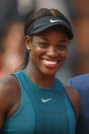Sloane Stephens at 2018 French Open Final in Paris 2018/06/08 2