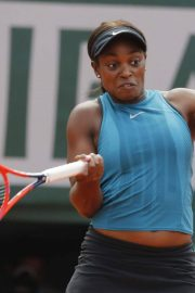 Sloane Stephens at 2018 French Open Final in Paris 2018/06/08 5