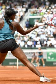Sloane Stephens at 2018 French Open Final in Paris 2018/06/08 10