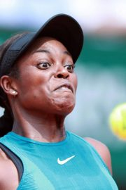 Sloane Stephens at 2018 French Open Final in Paris 2018/06/08 11