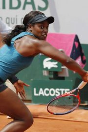 Sloane Stephens at 2018 French Open Final in Paris 2018/06/08 12