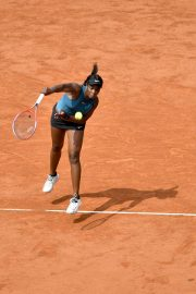 Sloane Stephens at 2018 French Open Final in Paris 2018/06/08 13