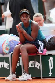 Sloane Stephens at 2018 French Open Final in Paris 2018/06/08 16