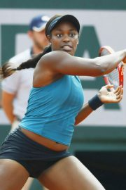 Sloane Stephens at 2018 French Open Final in Paris 2018/06/08 17
