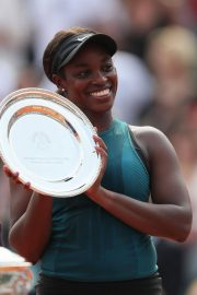 Sloane Stephens at 2018 French Open Final in Paris 2018/06/08 18