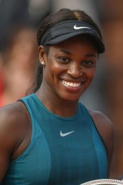 Sloane Stephens at 2018 French Open Final in Paris 2018/06/08 19
