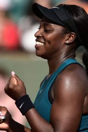 Sloane Stephens at 2018 French Open Tennis Tournament 2018/06/07 12