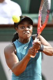 Sloane Stephens at 2018 French Open Tennis Tournament 2018/06/07 16