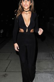Sophie Kasaei Night Out in London 2018/06/04 11