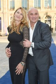 Steffi Graf and Andre Agassi at Longines Charity Gala in Paris 2018/06/02 1