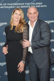 Steffi Graf and Andre Agassi at Longines Charity Gala in Paris 2018/06/02 5