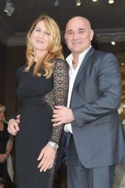 Steffi Graf and Andre Agassi at Longines Charity Gala in Paris 2018/06/02 6