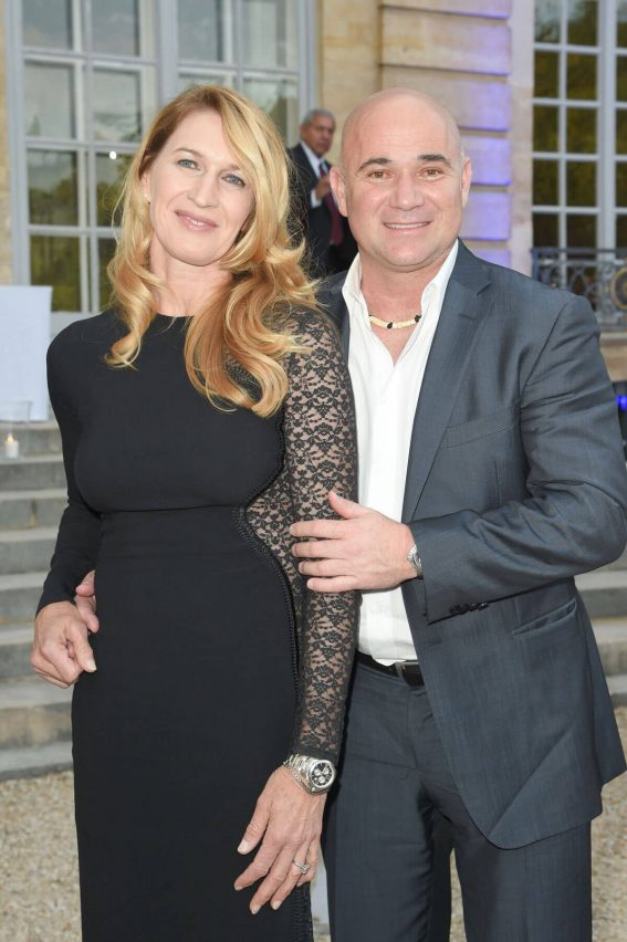 Steffi Graf and Andre Agassi at Longines Charity Gala in Paris 2018/06/02 9