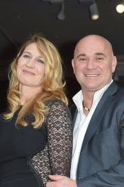Steffi Graf and Andre Agassi at Longines Charity Gala in Paris 2018/06/02 10