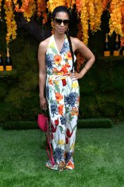Susan Kelechi Watson at Veuve Clicquot Polo Classic 2018 in New Jersey 2018/06/02 1