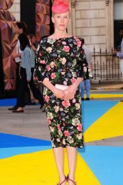 Susanne Wuest at Royal Academy of Arts Summer Exhibition Preview Party in London 2018/06/06 9