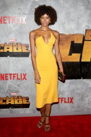 Tarah Rodgers at Luke Cage Series Premiere in New York 2018/06/21 2
