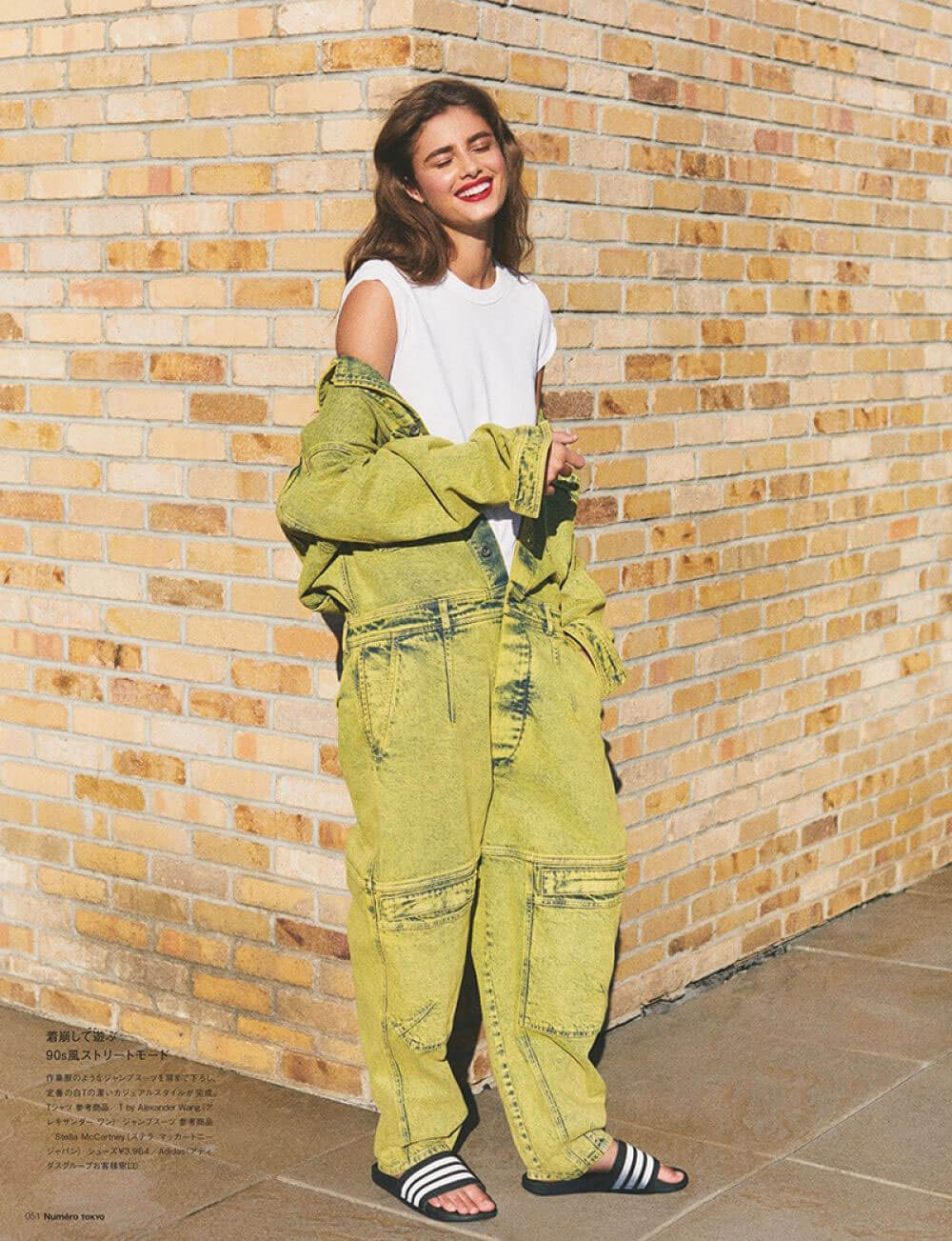 Taylor Hill in Numero Tokyo, July/August 2018 Issue 7
