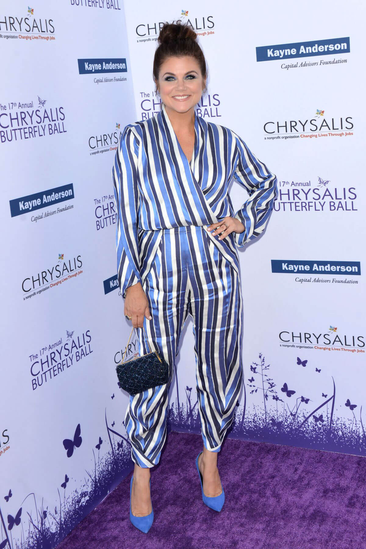 Tiffani Thiessen at 2018 Chrysalis Butterfly Ball in Los Angeles 2018/06/02 11