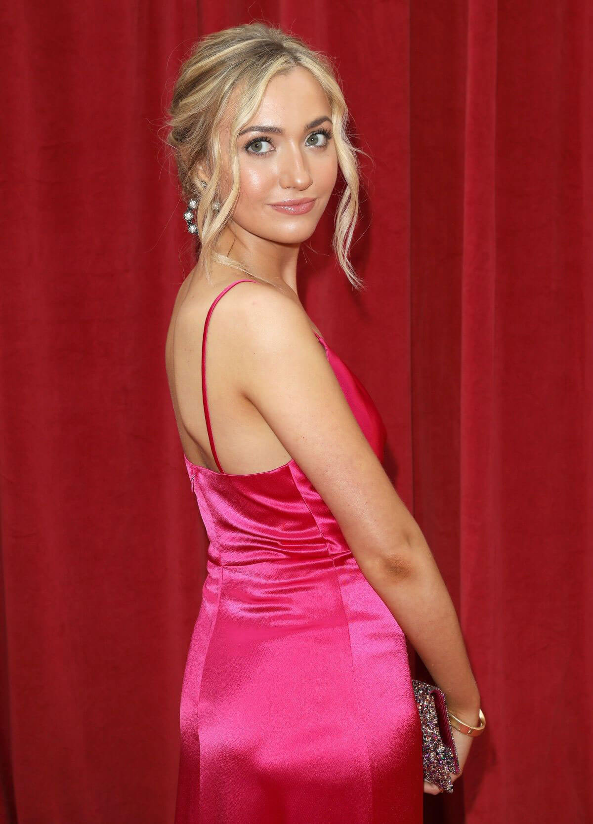 Tilly Keeper at British Soap Awards 2018 in London 2018/06/02 1