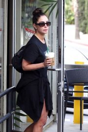 Tulisa Contostavlos at Starbucks in West Hollywood 2018/05/31 2
