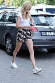 Urszula Radwanska Out and About in Warsaw 2018/06/12 9