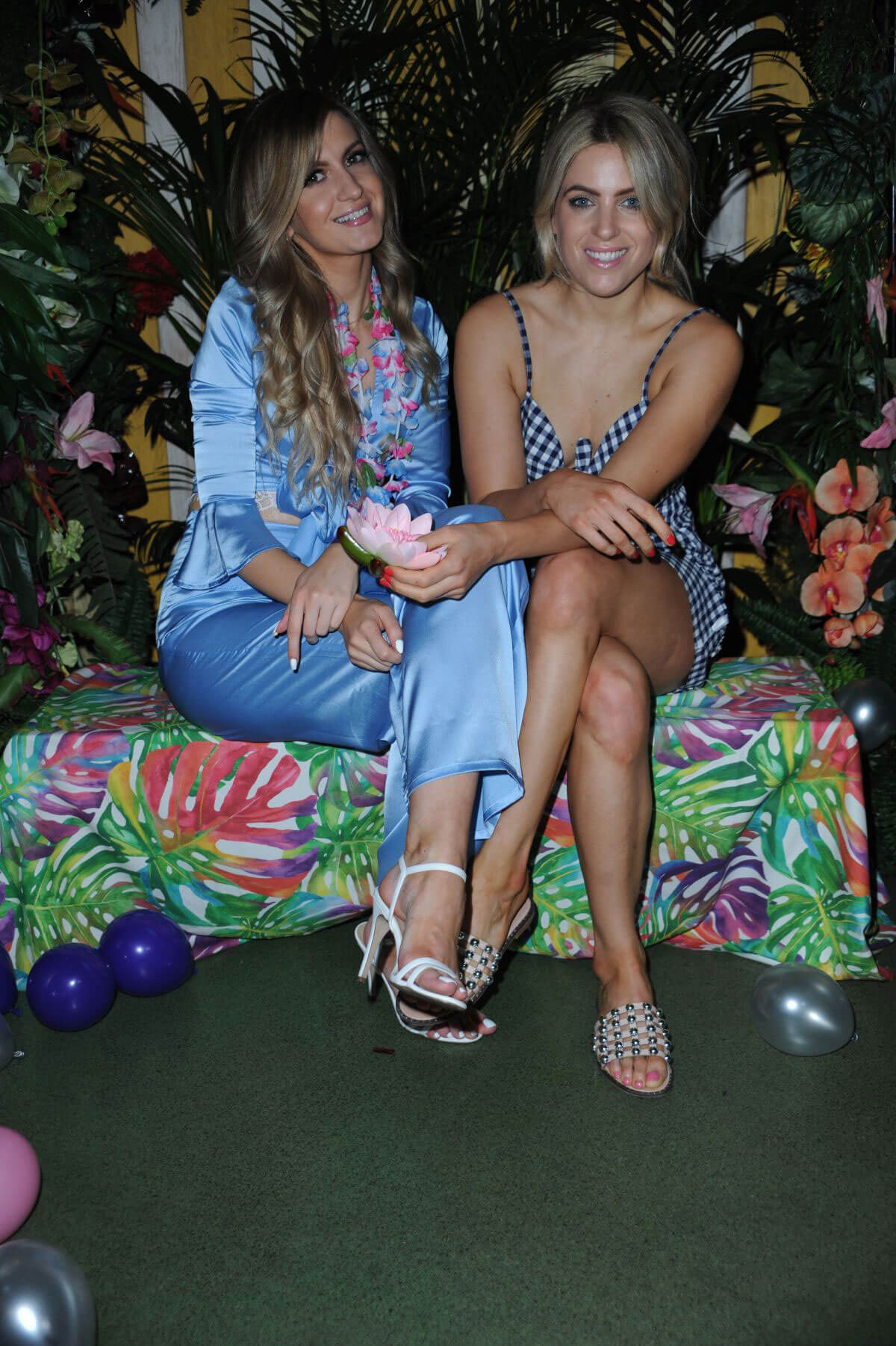 Victoria Brown and Olivia Cox at Kiko Milano Presents Limited Edition Makeup Capsule Collection in London 2018/06/07 1