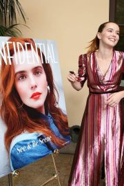 Zoey Deutch at LA Confidential Celebrates Its May/June Issue in Beverly Hills 2018/05/31 3