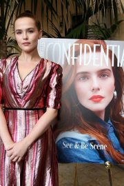 Zoey Deutch at LA Confidential Celebrates Its May/June Issue in Beverly Hills 2018/05/31 5
