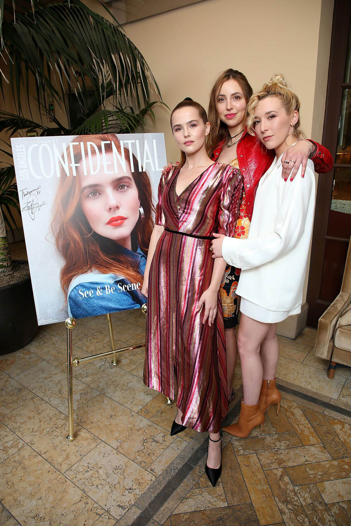 Zoey Deutch at LA Confidential Celebrates Its May/June Issue in Beverly Hills 2018/05/31 6
