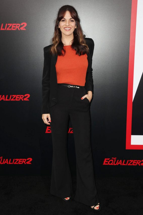 Abigail Marlowe at The Equalizer 2 Premiere in Los Angeles 2018/07/17 1