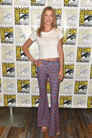 Adrianne Palicki at The Orville Press Line at Comic-con in San Diego 2018/07/21 1