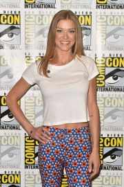 Adrianne Palicki at The Orville Press Line at Comic-con in San Diego 2018/07/21 2