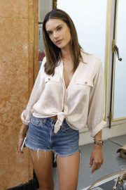 Alessandra Ambrosio on the Backstage of Zuhair Murad Fashion Show in Paris 2018/07/04 5
