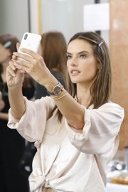 Alessandra Ambrosio on the Backstage of Zuhair Murad Fashion Show in Paris 2018/07/04 12