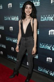 Alexa Mansour at Unfriended: Dark Web 2018 Premiere in Los Angeles 2018/07/17 1