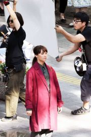 Alicia Vikander on the Set of The Earthquake Bird in Tokyo 2018/06/03 3