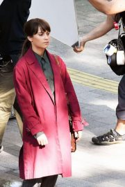 Alicia Vikander on the Set of The Earthquake Bird in Tokyo 2018/06/03 5