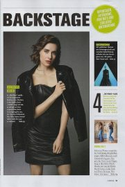 Alison Brie in Cinema Magazine, Germany July 2018 4