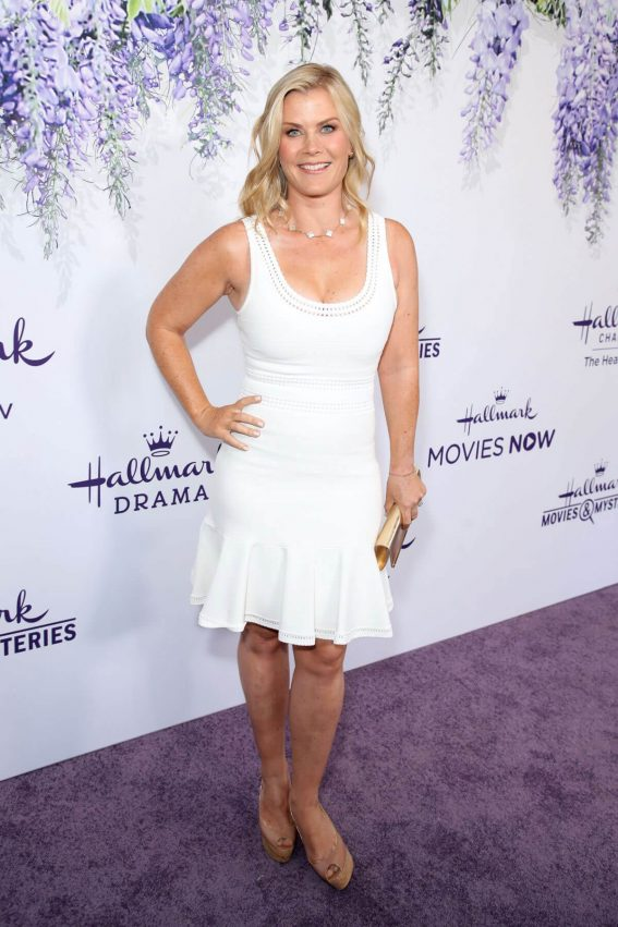 ALISON SWEENEY at Hallmark Channel Summer TCA Party in Beverly Hills 2018/07/27 1