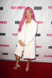 Amara Cash at Outfest Film Festival Opening Night Gala in Los Angeles 2018/07/12 5