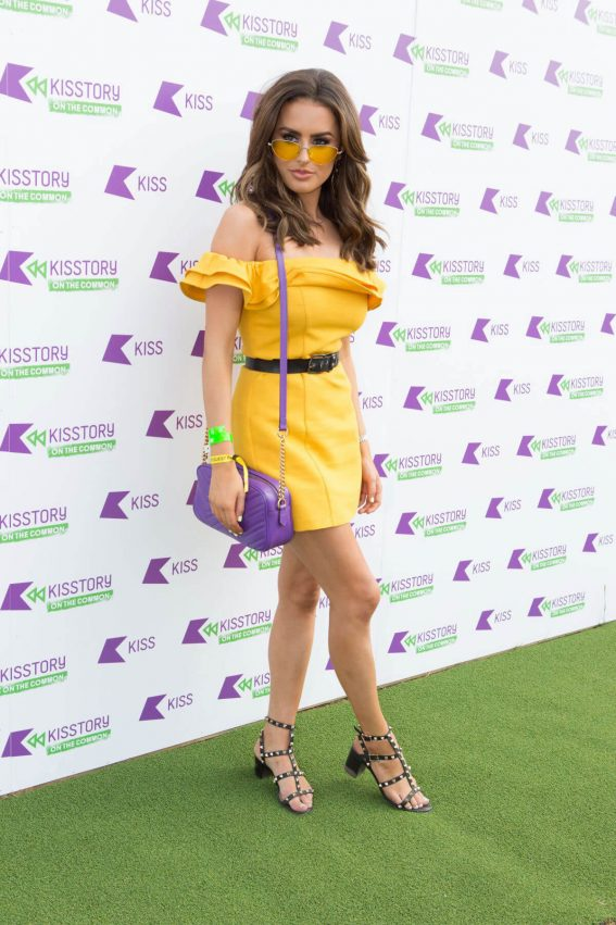 Amber Davies at Kisstory on the Common in London 2018/07/21 1