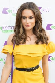 Amber Davies at Kisstory on the Common in London 2018/07/21 10