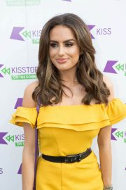Amber Davies at Kisstory on the Common in London 2018/07/21 11