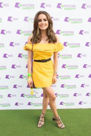 Amber Davies at Kisstory on the Common in London 2018/07/21 12