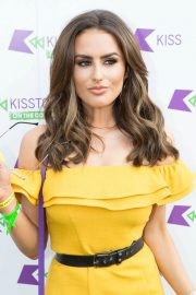 Amber Davies at Kisstory on the Common in London 2018/07/21 13